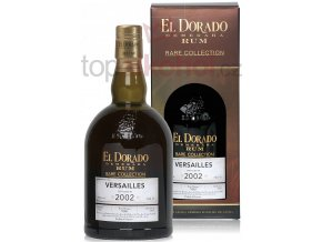 El Dorado Rum Versailles 2002 Rare Collection 0,7l