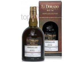 El Dorado Rum Versailles 2002 Rare Collection 63 % 0,7 l