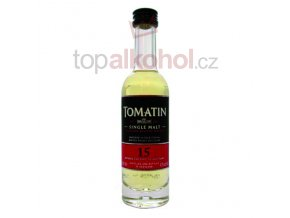 Tomatin 15 yo 43 % 0,05 l