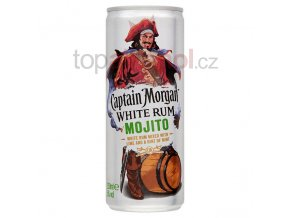 Captain Morgan White Rum Mojito 250 ml