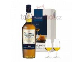Talisker Port Ruighe 0,7l + 2x sklenička