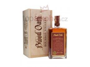 blood oath bourbon bottle review