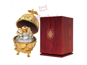 Vodka Imperial Collection Faberge Ei Gold 0,7l