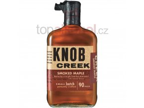 knob creek bourbon small batch smoked maple bourbon1