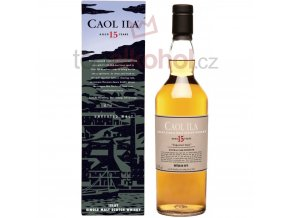 Caol Ila 15 yo UNPEATED STYLE Natural Cask Strength 0,7 l