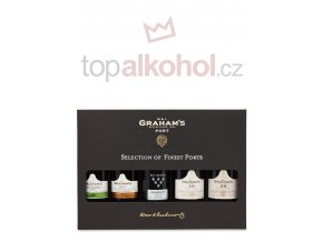 Grahams Selection of Finest Port sada 5 x 0,2 l