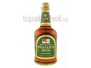 Pusser´s Rum Overproof Green Label 0,7l