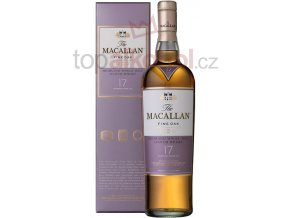 macallan fine oak 17 year old single malt scotch 1