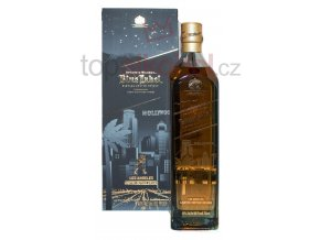 johnnie walker scotch blended blue label hollywood los angeles limited edition 750ml s