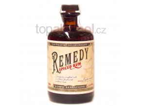 remedy spiced rum 700ml 41 5 vol.