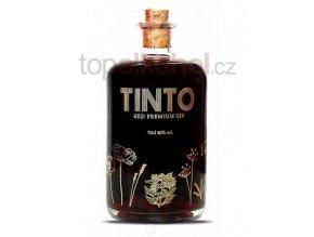 tinto red premium gin portuguese gin
