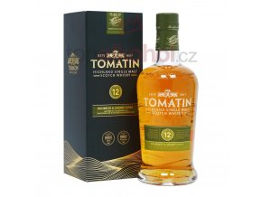 tomatin 12 year old bourbon sherry casks p3196 4245 image