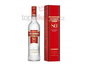 Stolichnaya80AnniversaryEdition Bottle+box small