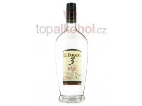 el dorado 3 year old white rum 70cl