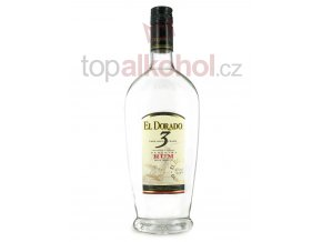 el dorado 3 year old white rum 70cl