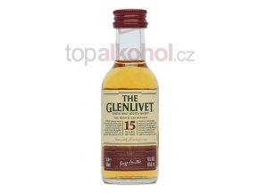 glenlivet 15 year old french oak reserve 5cl mini
