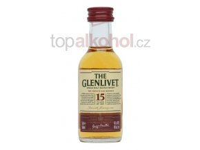 glenlivet 15 year old french oak reserve 5cl mini