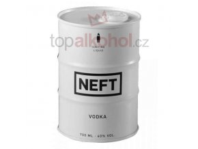 Vodka Neft White Barrel 0,7 l