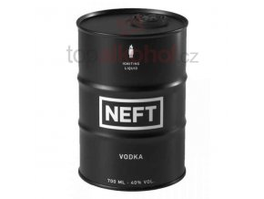 Vodka Neft Black Barrel 0,7 l