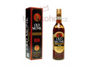 Old Monk Gold Reserve 12 Year Old Rum 700 ml 40 abv
