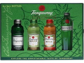 Tanqueray Gin Exploration Pack 4 x 0 05 43 25 Vol .12440b