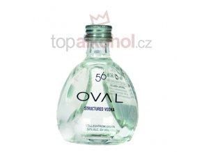 Oval vodka 56% 0,05l