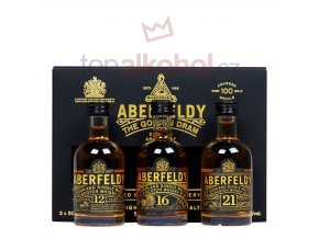 aberfeldy gift pack 3x5cl miniatures p9434 15477 image
