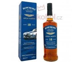 bowmore 18 yo aston martin golden elegant box 700ml 43 vol