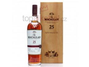 Macallan Sherry Oak 25 yo 43% 0,7 l