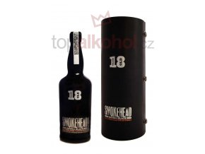 Smokehead Extra Black 18 yo 46 % 0,7 l