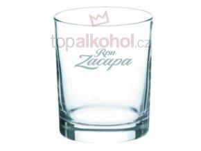 Zacapa logo sklenička