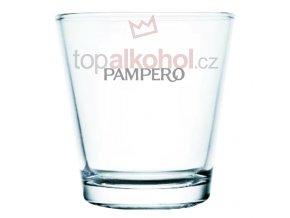 Pampero logo sklenička