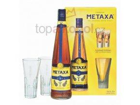 Metaxa 5* 0,7l v dárkové kazetě