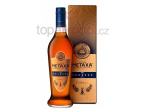 metaxa 7 stars bottle gb front.Maly