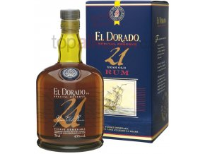 S EL008 El Dorado 21 YO rum