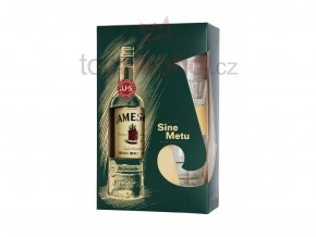 vyrn 11268john jameson irish whiskey gift box two glasses