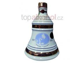 Bell´s 8 yo 0,7l zvon z porcelánu Alexander Graham Bell