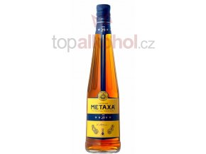 metaxa 5 stars bottle maly