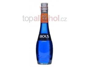 Bols blue curacao liqueur