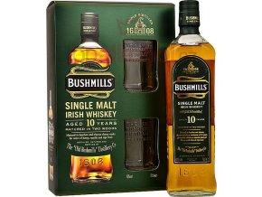 Bushmills 10 yo 0,7l v dárkové kazetě