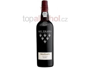 Graham´s Port Six Grapes 20 % 0,75 l
