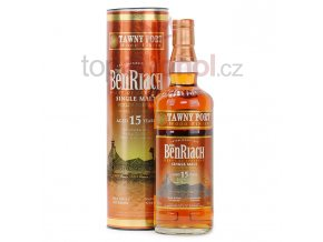 BenRiach 15 yo Tawny Port Wood Finish 0,7l