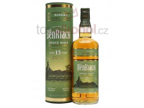 BenRiach 15 yo Madeira Wood Finish 0,7l