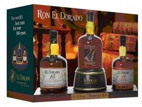El dorado Rum Display 12 yo, 15 yo, 21 yo x 0,7l
