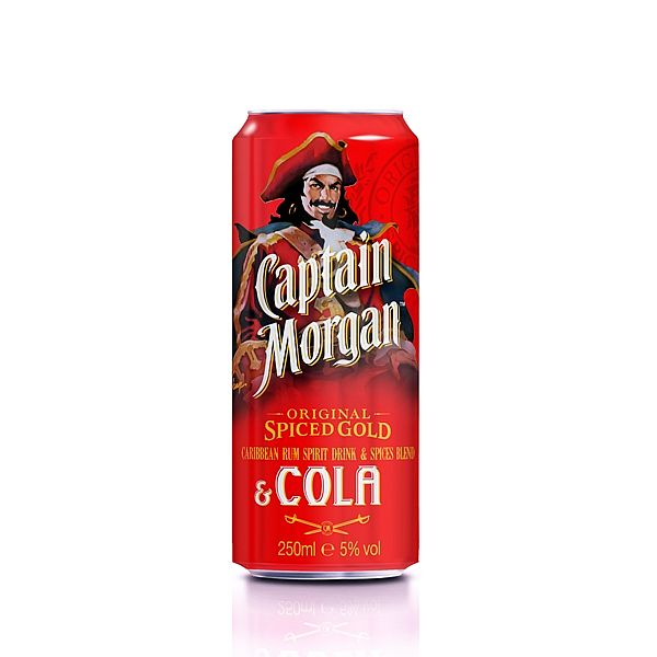 Captain Morgan Spiced Gold & Cola 0,25l