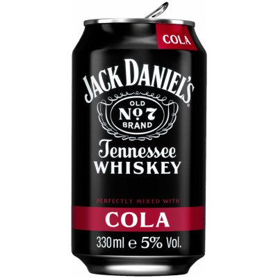 Jack Daniel´s & Cola 0,33l