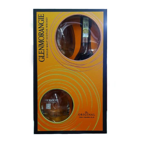 Glenmorangie 10 yo 0,7l v dárkové kazetě se sklem