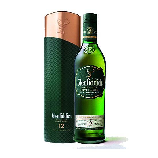 Glenfiddich 12 yo 0,7l v plechové tubě