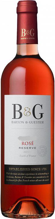 Barton & Guestier Rosé Reserve Barton&Gautier 0,75l
