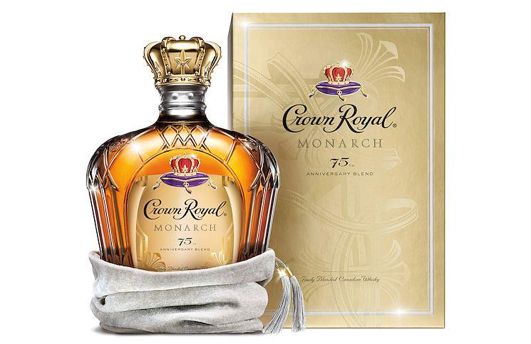 Crown Royal Monarch 75 anniversary 0,75l